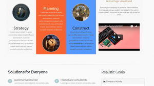 Configurable Home Page